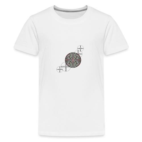Archangel Michael Swash - Teenage Premium T-Shirt