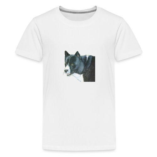 karelian beardog - Teenager premium T-shirt