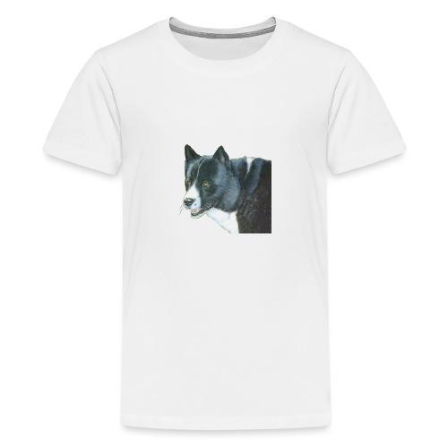 karelian beardog - Teenager premium T-shirt