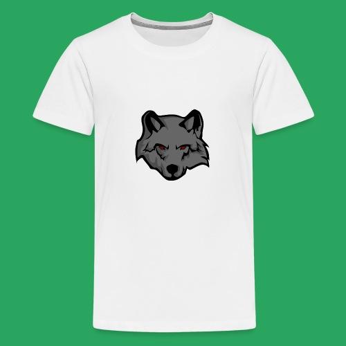 wolf logo - Maglietta Premium per ragazzi