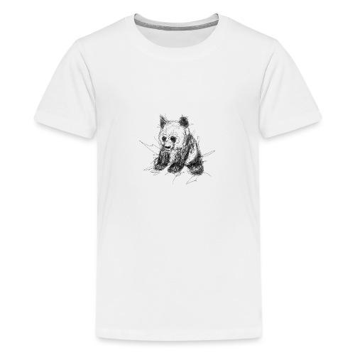 Scribblepanda - Teenage Premium T-Shirt