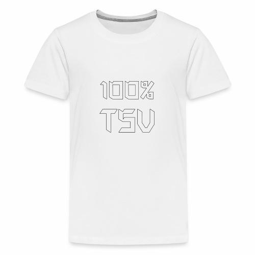 100 TSV png - Teenager Premium T-Shirt