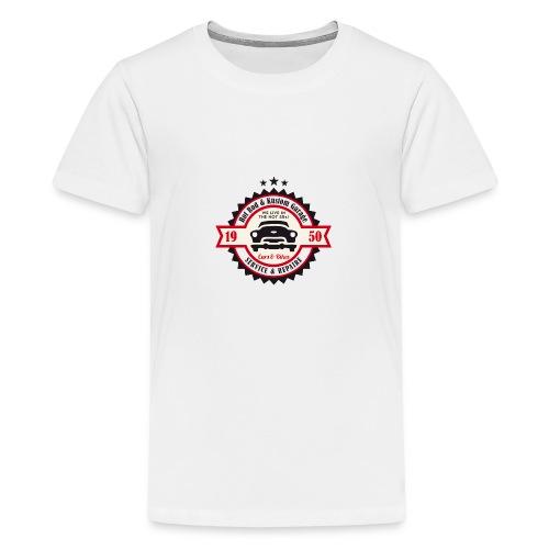 Hot Rod and Kustom Garage - Teenager Premium T-Shirt