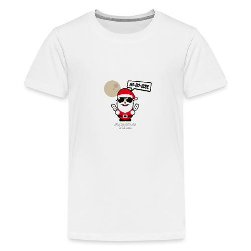 ho-ho-hodl-santa.png - Teenager Premium T-Shirt
