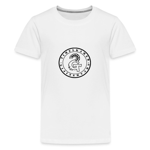Logo transparent - Teenager Premium T-Shirt
