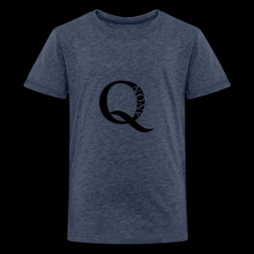 Q Anon Q-Anon Original Logo - Teenager Premium T-Shirt