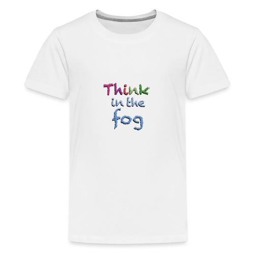 Think in the fog - Maglietta Premium per ragazzi