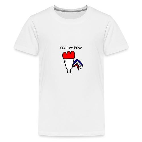 C est un beau COQ - T-shirt Premium Ado