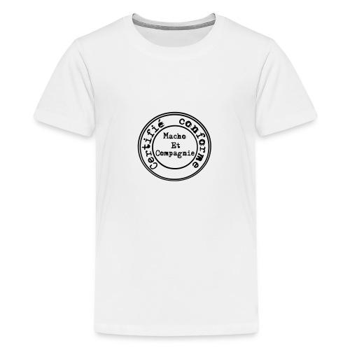 certifié conforme - T-shirt Premium Ado