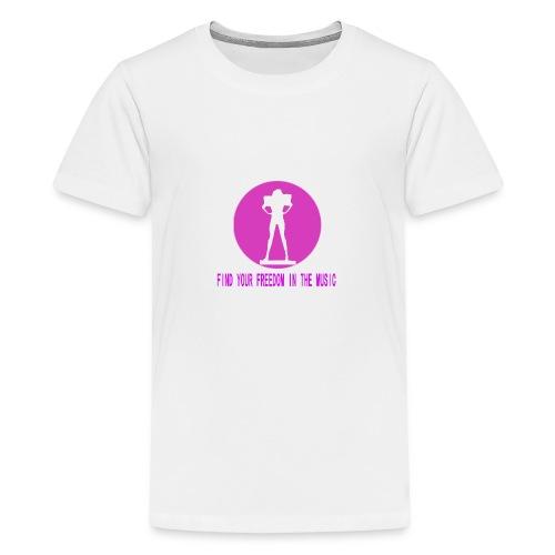 DANCE IN THE DARK unisex - Camiseta premium adolescente