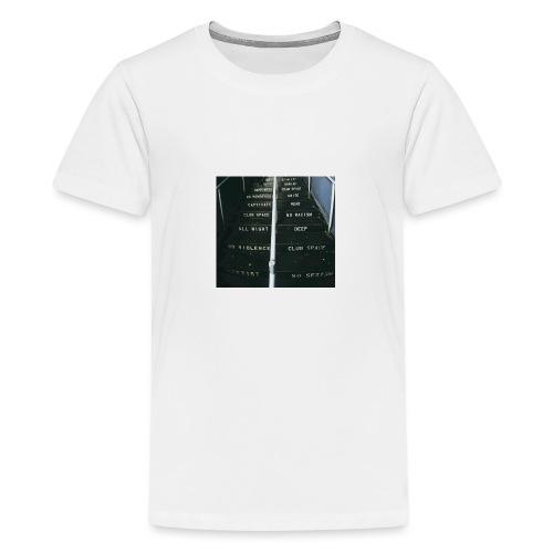 lawsoftechno - Teenager Premium T-shirt