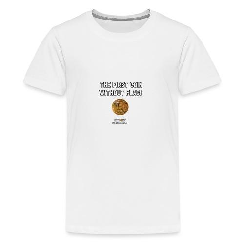 Coin with no flag - Maglietta Premium per ragazzi