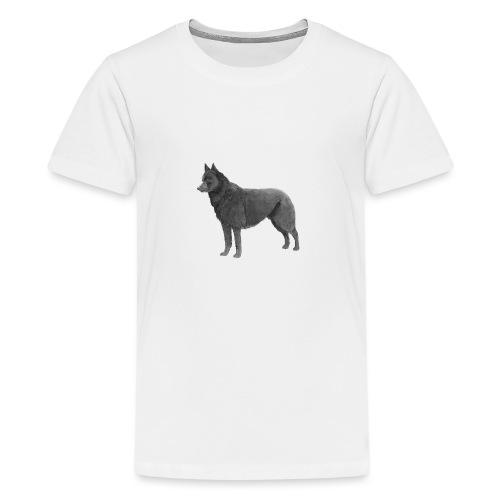 schipperke Ink - Teenager premium T-shirt