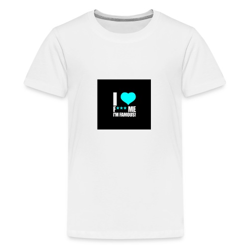I Love FMIF Badge - T-shirt Premium Ado