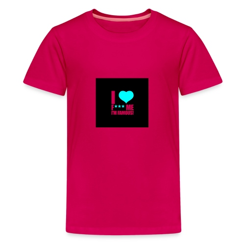 I Love FMIF Badge - T-shirt Premium Ado