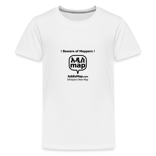 bewareofmappers - Teenager Premium T-Shirt