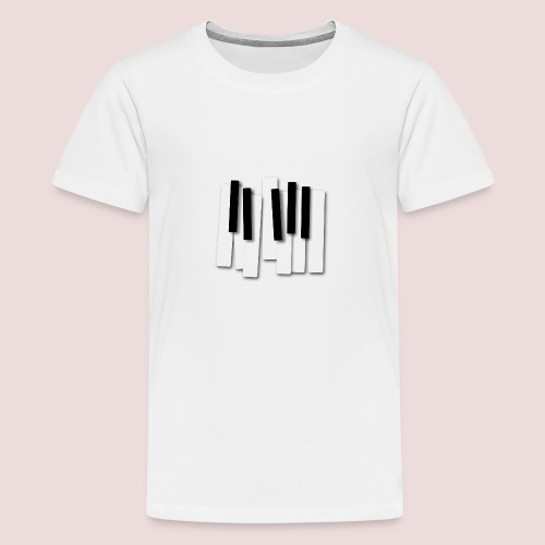 Klaviatur - Premium-T-shirt tonåring