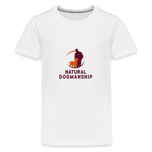 Natural Dogmanship - Teenager Premium T-Shirt