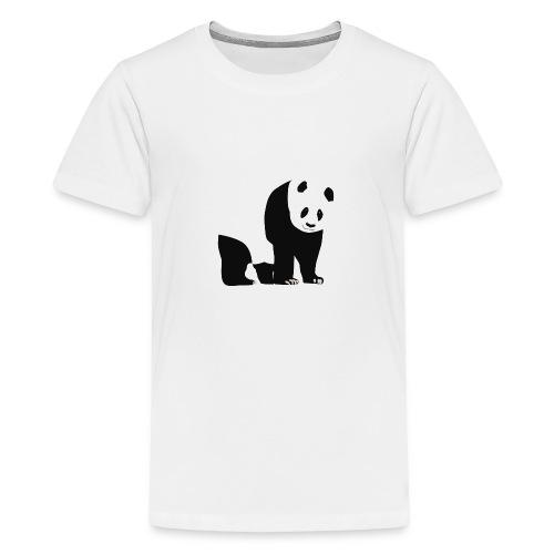 Panda - Teinien premium t-paita