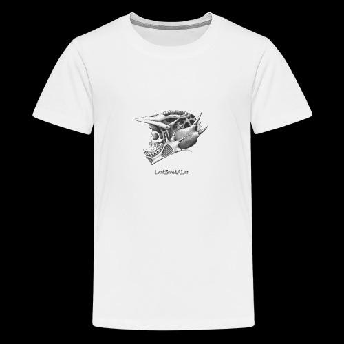 Downhill Skull - Teenager Premium T-Shirt