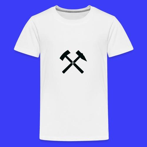 Pałki żelazne - Koszulka młodzieżowa Premium