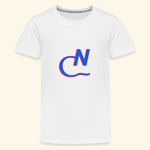CN blau - Teenager Premium T-Shirt