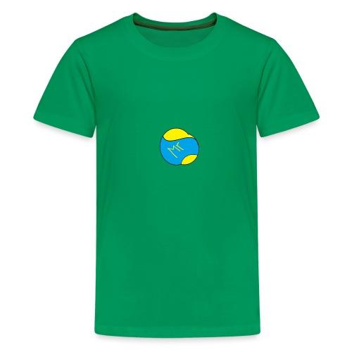 mr hav3rgyn logo - Teenager premium T-shirt