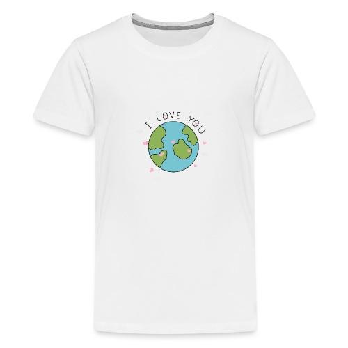 iloveyou - Maglietta Premium per ragazzi