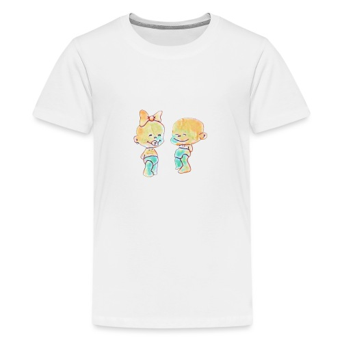 Bambini innamorati - Maglietta Premium per ragazzi