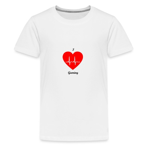 Ilovegaming - Teenager Premium T-Shirt