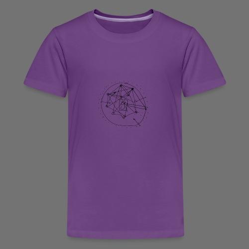 SEO strategia No.1 (musta) - Teinien premium t-paita