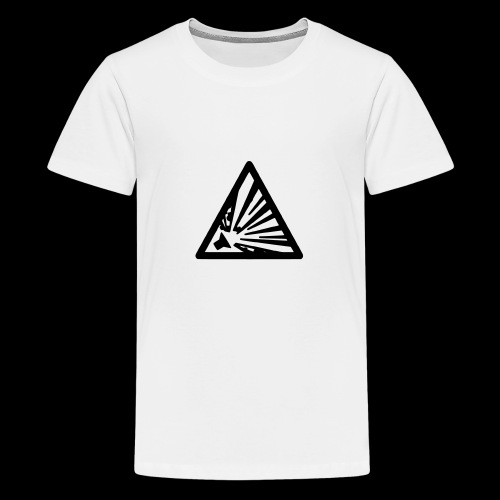 laud23 symbol 03 - Teenage Premium T-Shirt