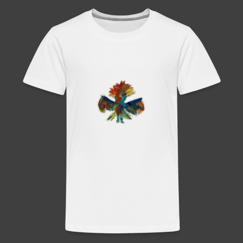 Mayas bird - Premium-T-shirt tonåring