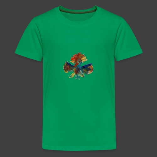 Mayas bird - Teenage Premium T-Shirt