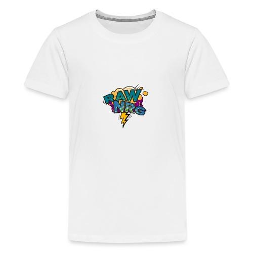 Raw Nrg Comic 1 - Teenage Premium T-Shirt