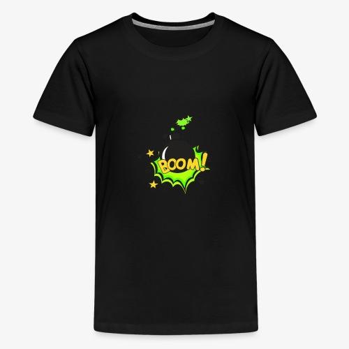 Serie Animaciones de los 80´s - Camiseta premium adolescente