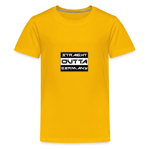 Straight Outta Germany - Teenager Premium T-Shirt