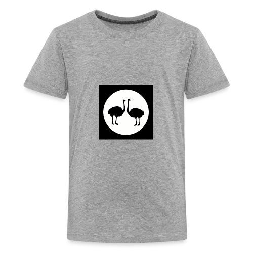 Strauß - Teenager Premium T-Shirt