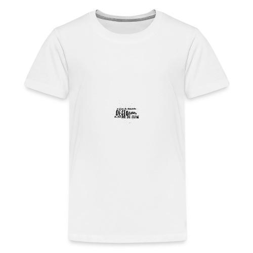Blick auf die Sterne - Teenager Premium T-Shirt