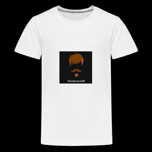 educate yourself - Teenage Premium T-Shirt
