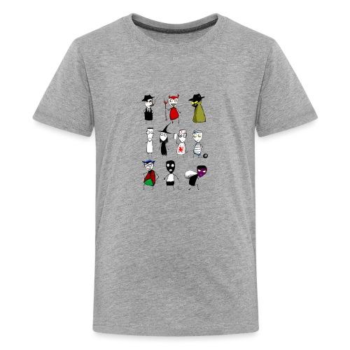 Bad to the bone - Teenage Premium T-Shirt