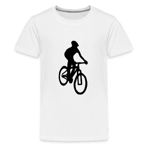 Mountainbiker - Teenager Premium T-Shirt