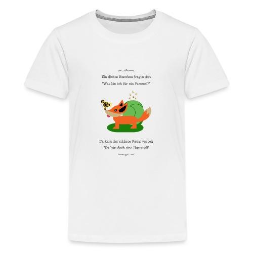 Pummelbiene - Teenager Premium T-Shirt