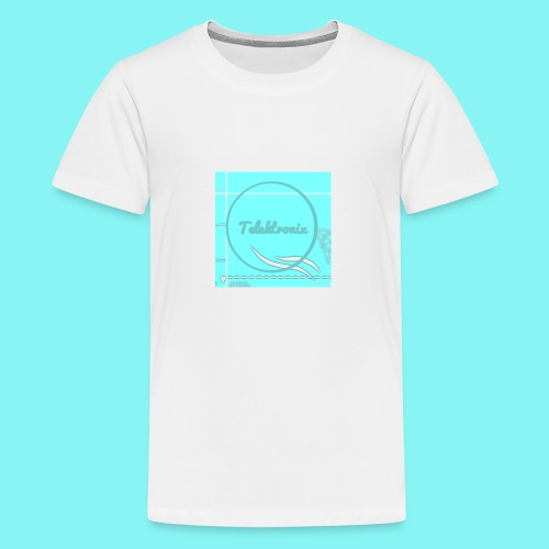 Telektronix Special Edition Logo - Teenage Premium T-Shirt