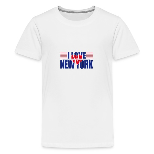 love new york - T-shirt Premium Ado