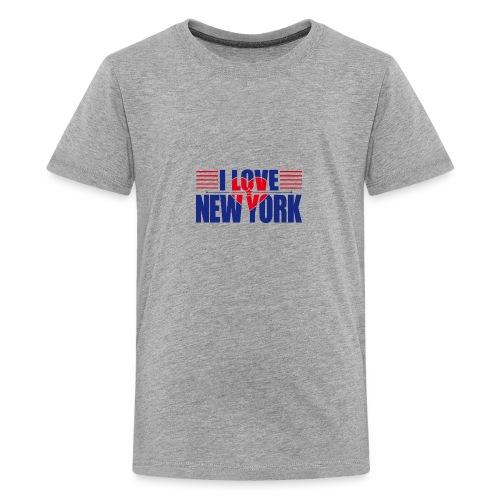 love new york - T-shirt Premium Ado