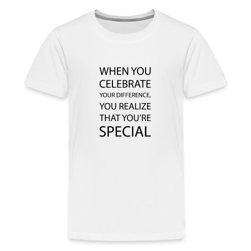 You're special - Teenager premium T-shirt