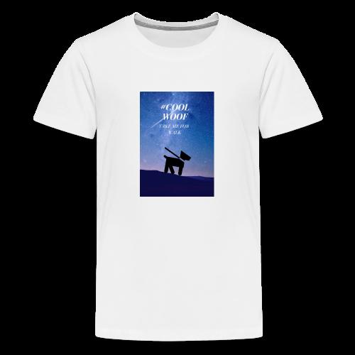 TAKE ME FOR WALK - Koszulka młodzieżowa Premium