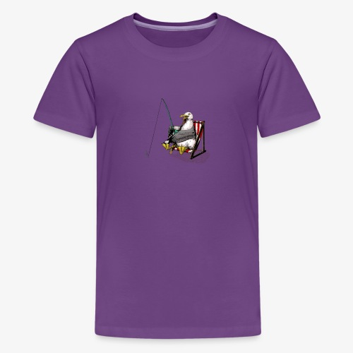 Seagull Fisher - Teenage Premium T-Shirt