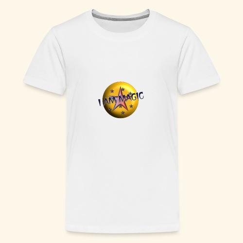 I AM Magic1 - Teenager Premium T-Shirt